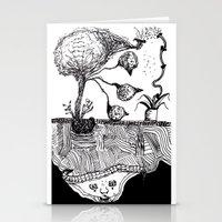 Bird Tree Stationery Cards