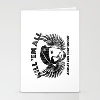 Kill 'Em All And Let ZOD… Stationery Cards