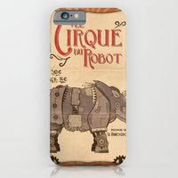 iPhone & iPod Case featuring Robot Circus - Rhino by Michael Murdock