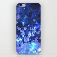 H.E.L.L.O. / blue version iPhone & iPod Skin