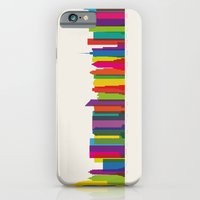 iPhone & iPod Case featuring Colossal NYC by Glen Gould