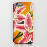 Stargazer Lilies iPhone 6 Slim Case
