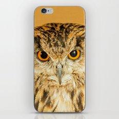OWL RIGHT ON THE NIGHT iPhone & iPod Skin