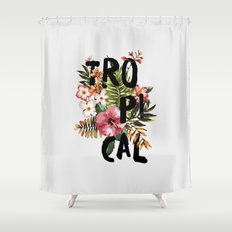 Tropical I Shower Curtain