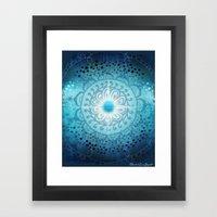 Vishudda - Chakra 5 Framed Art Print