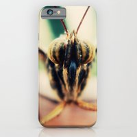 iPhone & iPod Case featuring moth by Sookie Endo