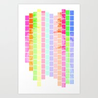 Bricks of Sound Art Print