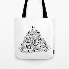 Pupper Pile Tote Bag