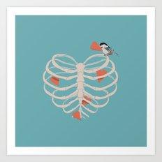 The Heart Collector Art Print