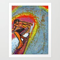 Indian Summer  Art Print