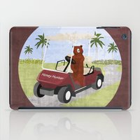 #HoneyHunter iPad Case