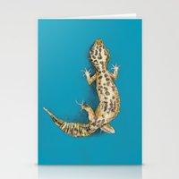 Leopard Gecko Stationery Cards