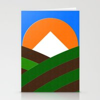 Mt Hood & Vineyard Stationery Cards