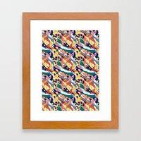 All Over Framed Art Print
