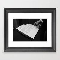 Conducting Framed Art Print