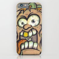 iPhone & iPod Case featuring FOURHEADS ARE BETTER THAN ONE by SINDY SINN