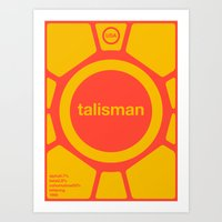 Talisman Single Hop Art Print