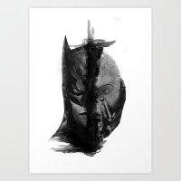 Braking Bat Art Print