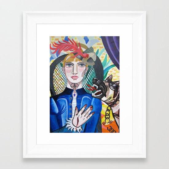 La Mordida Framed Art Print