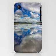 iPhone & iPod Case featuring Clouds Reflected by JMcCool