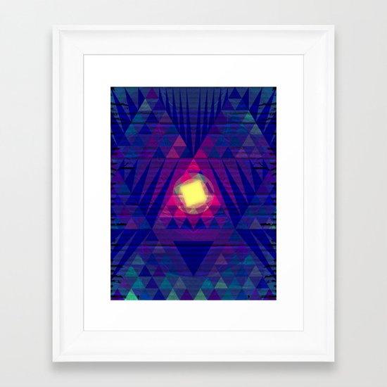 Intergalactic Sunrise Framed Art Print
