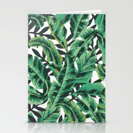Tropical Glam Banana Lea… Stationery Cards