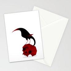 Bird and Skull Stationery Cards