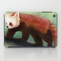 Red Panda iPad Case