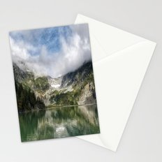 Lake Landscape #mountains Stationery Cards