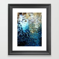 Nature Pixels No 25 Framed Art Print