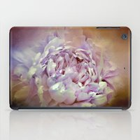 Blushing Lavender and Sand Wash Peony - Floral iPad Case