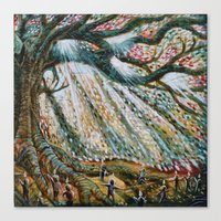The Children's Tree Of Life #1 Canvas Print
