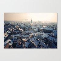 Old Town Sunrise, Prague Canvas Print