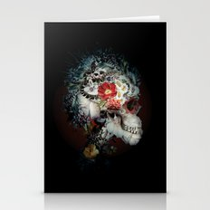 Skull I Black Series Stationery Cards