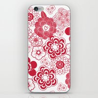 giving hearts giving hope: red garden iPhone & iPod Skin