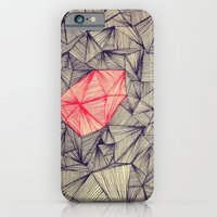iPhone & iPod Case featuring Lines On Lines by Glassy