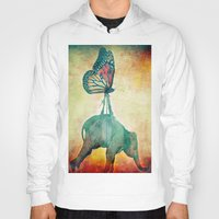The elephant and the butterfly Hoody