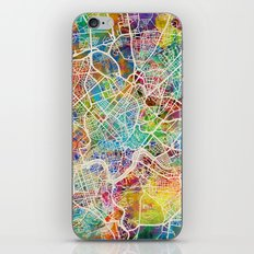 Rome Italy Street Map iPhone & iPod Skin