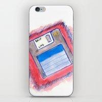 Disk iPhone & iPod Skin