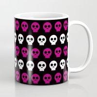Skull Preppie Candy Girl Mug