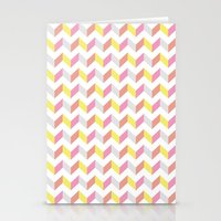 Yellow & Pink Stationery Cards