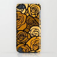 Romantic Yellow Roses Wi… iPod touch Slim Case