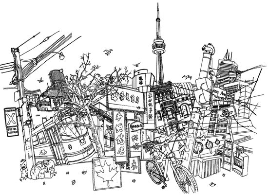 Toronto! Art Print