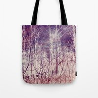 Winter Forest Changing S… Tote Bag