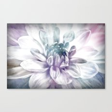 water color flower Canvas Print