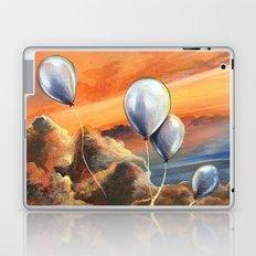 Balloons in the Sunset Laptop & iPad Skin
