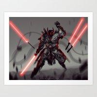 Sith Lord Darth Ur Art Print