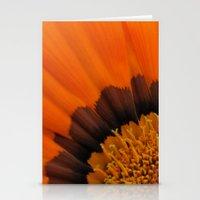 Orange Gazania Stationery Cards
