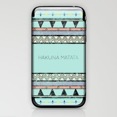 Hakuna Matata iPhone & iPod Skin