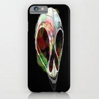 iPhone & iPod Case featuring Rainbow Skull by Skeletal Noir